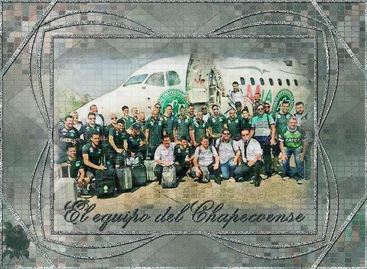 El equipo del Chapecoense