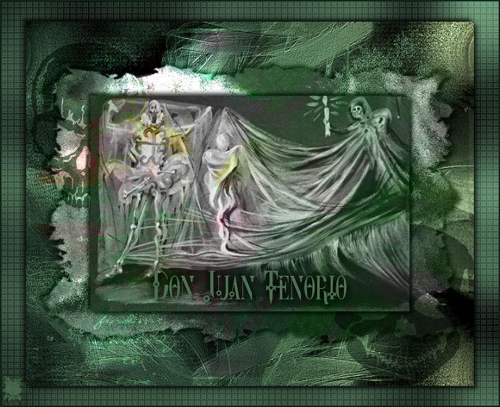 Escenografía de la muerte para  Don Juan Tenorio