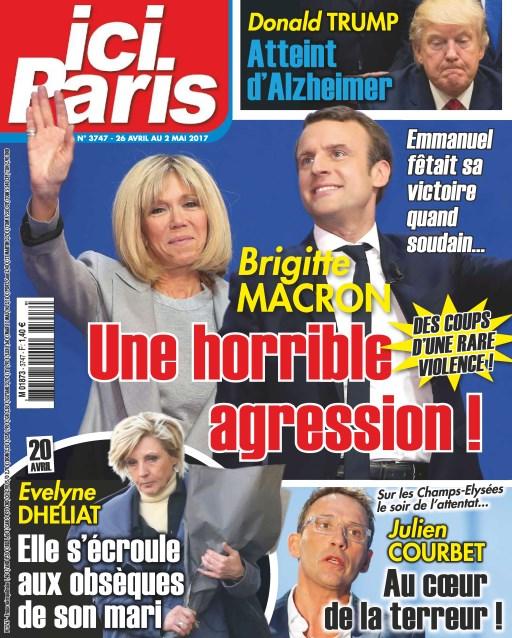 Ici Paris N°3747 - 26 Avril au 2 Mai 2017