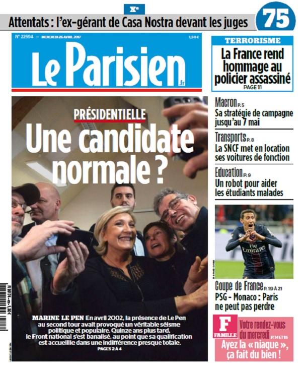 télécharger Le Parisien Du Mercredi 26 Avril 2017