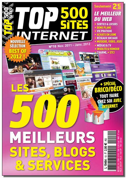 Top 500 Sites Internet N°10 - Les 500 meilleurs sites, blogs et services