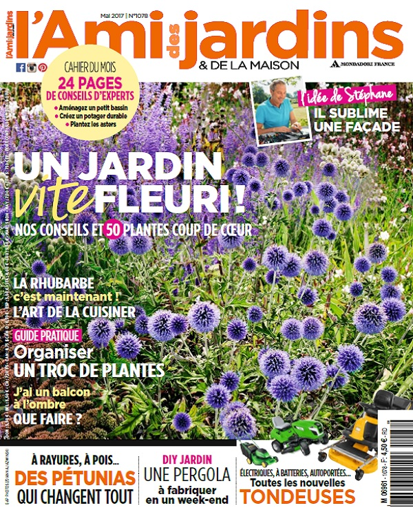 télécharger L'Ami Des Jardins N°1078 - Mai 2017