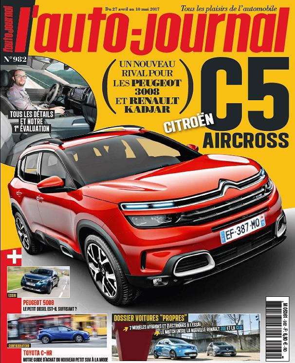 télécharger L'Auto Journal N°982 Du 27 Avril au 10 Mai 2017
