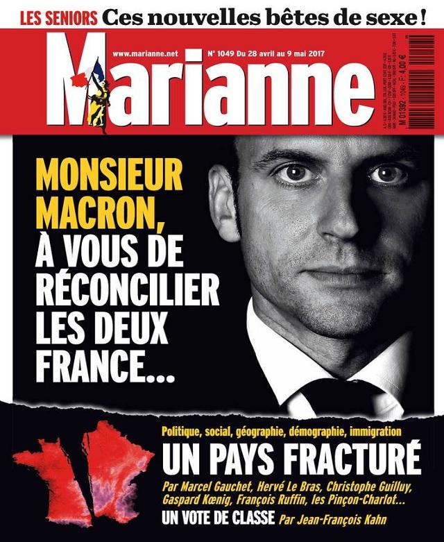 télécharger Marianne N°1049 Du 28 Avril au 9 Mai 2017