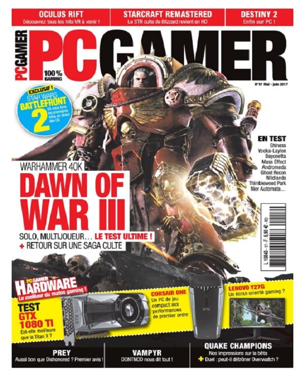 télécharger PC Gamer N°17 - Mai-Juin 2017