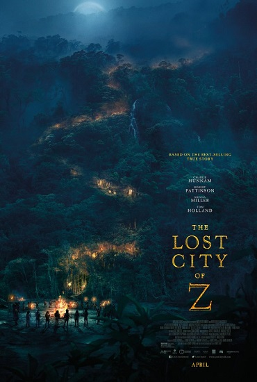 Zaginione miasto Z / The Lost City of Z (2016) WEB-DL.XviD.AC3-FGT / ENG