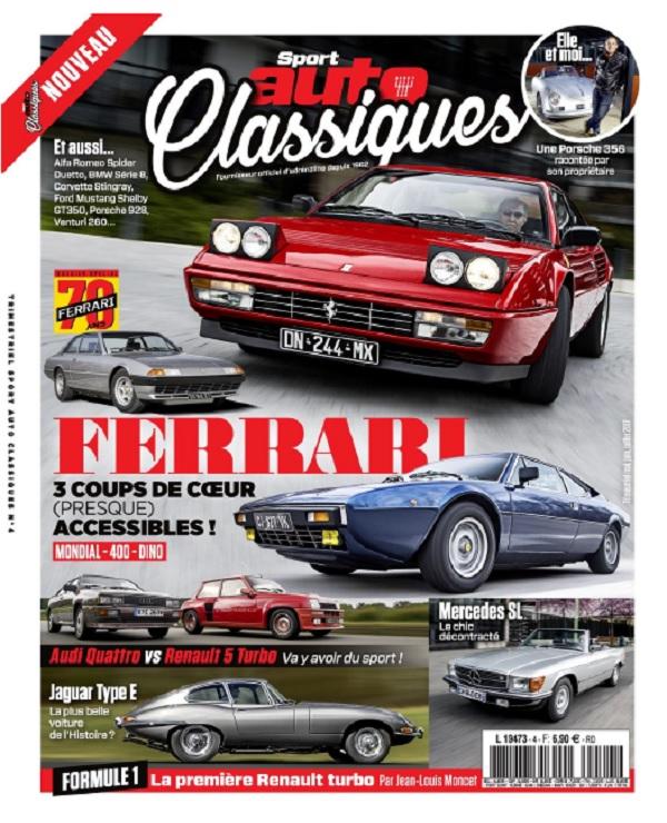 télécharger Sport Auto Classiques N°4 - Mai-Juillet 2017