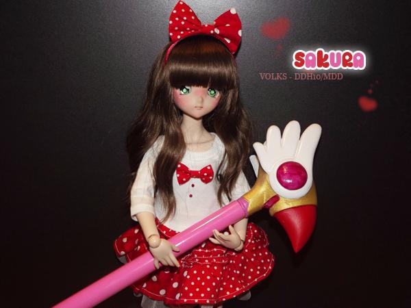 [Volks MDD+DDH10] Sakura dans Card Captor ! 170501090053551701