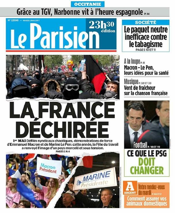télécharger Le Parisien Du Mardi 2 Mai 2017