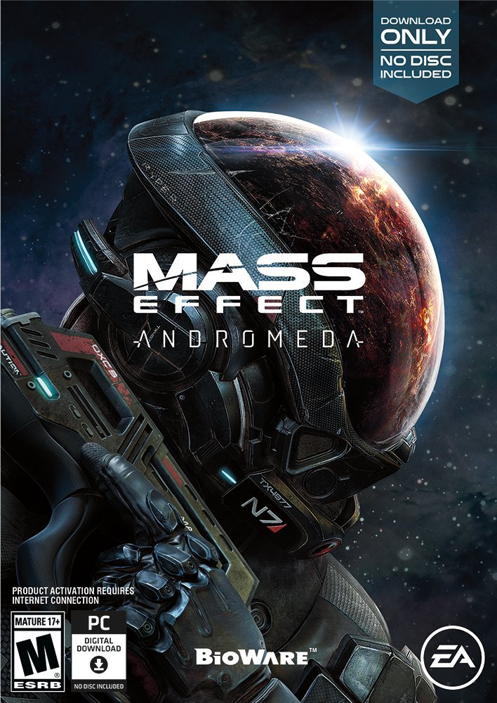 Poster for Mass Effect: Andromeda