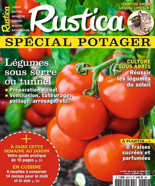 télécharger Rustica N°2471 Du 5 au 11 Mai 2017