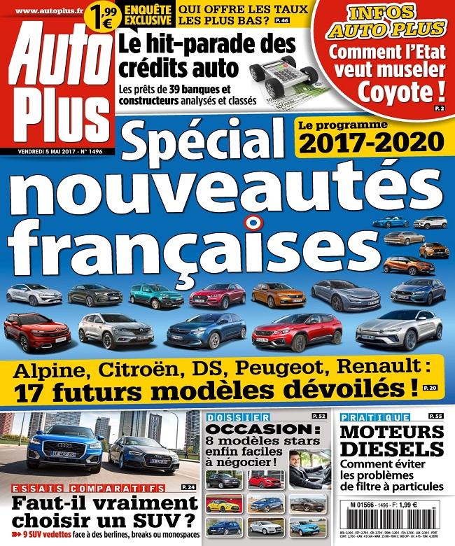 télécharger Auto Plus N°1496 Du 5 au 11 Mai 2017