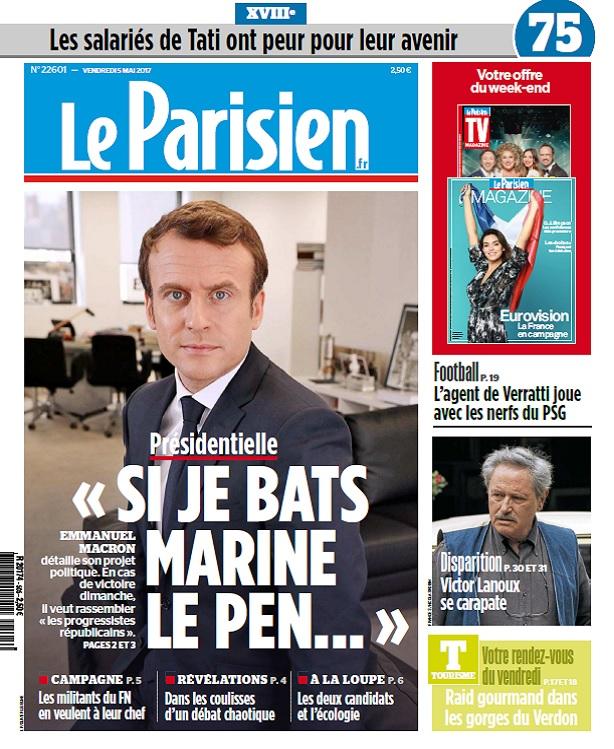 télécharger Le Parisien Du Vendredi 5 Mai 2017