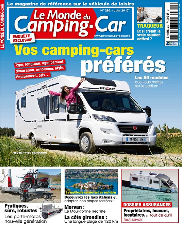 télécharger Le Monde Du Camping-Car N°292 - Juin 2017