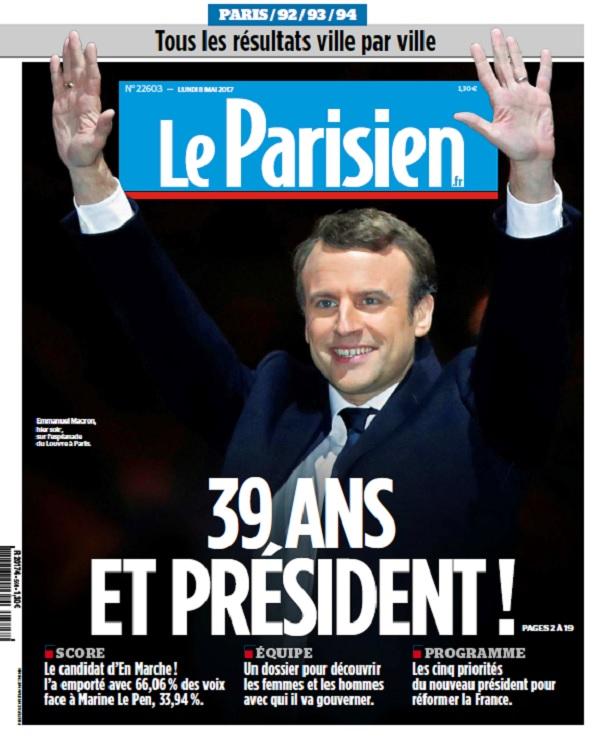 télécharger Le Parisien + Supp Présidentielles Du Lundi 8 Mai 2017