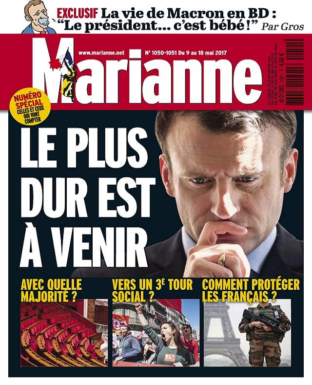 télécharger Marianne N°1050 Du 9 au 18 Mai 2017