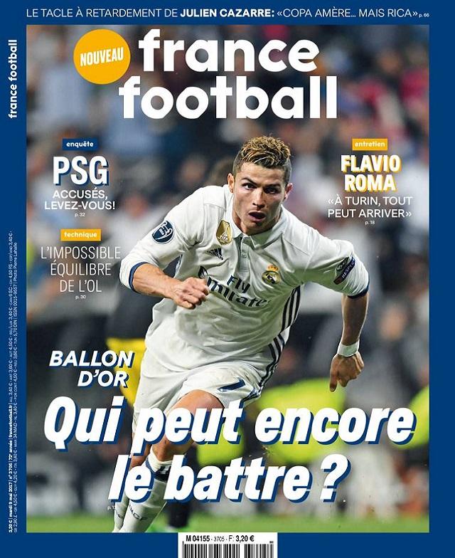 télécharger France Football N°3705 Du Mardi 9 Mai 2017