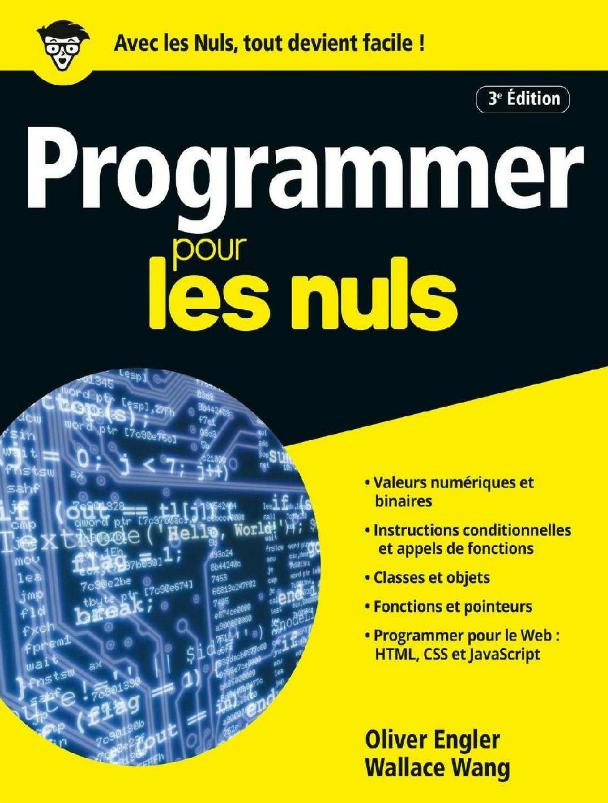 télécharger Programmer pour les nuls ( Mai 2017 ). First