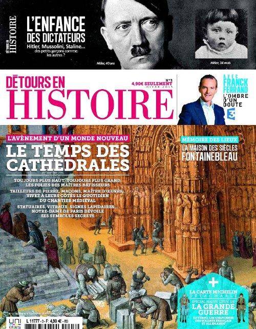 Détours en Histoire N°3 - Le temps des cathédrales sur Bookys