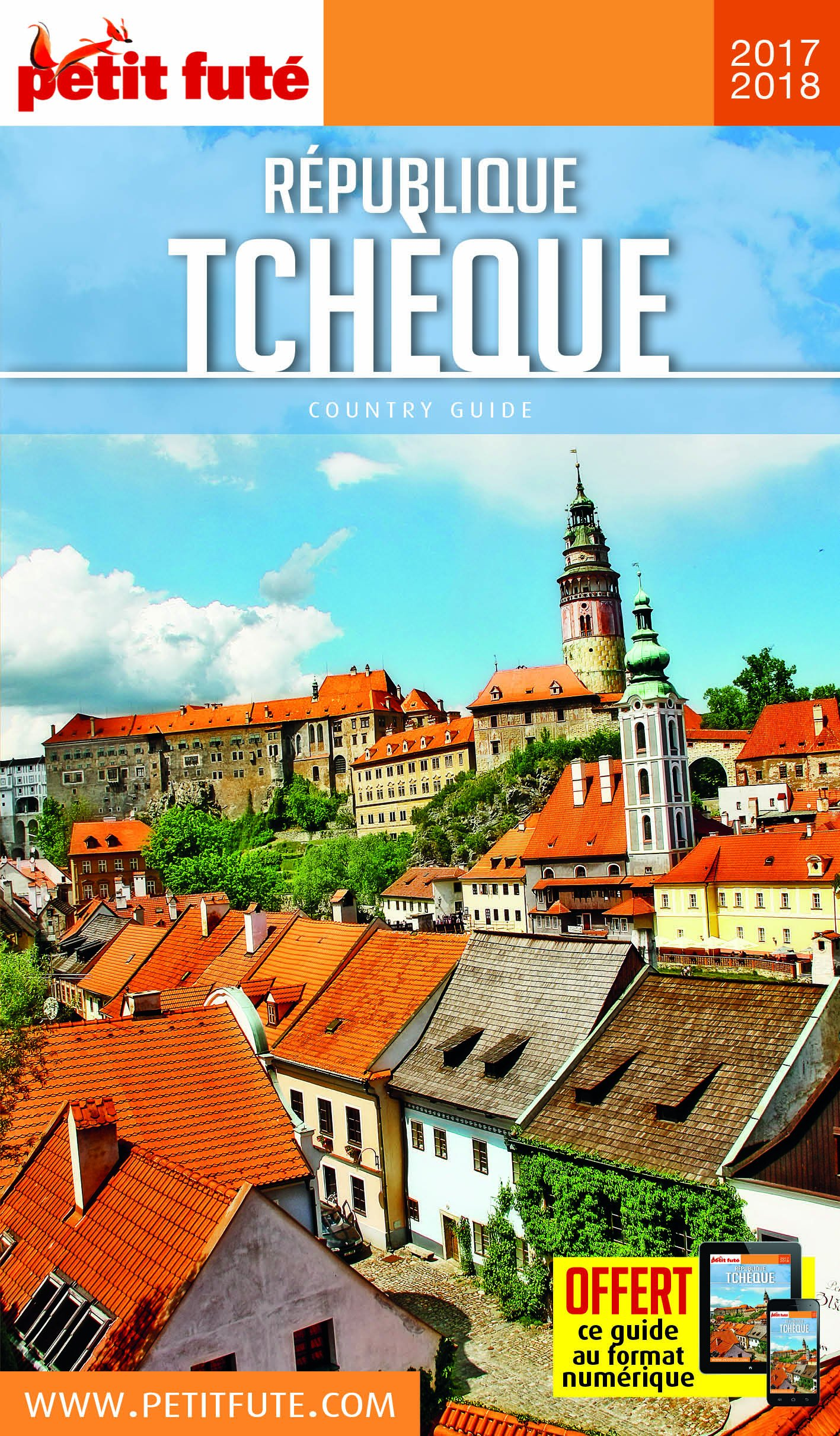 télécharger Petit Futé : République tchèque 2017/2018