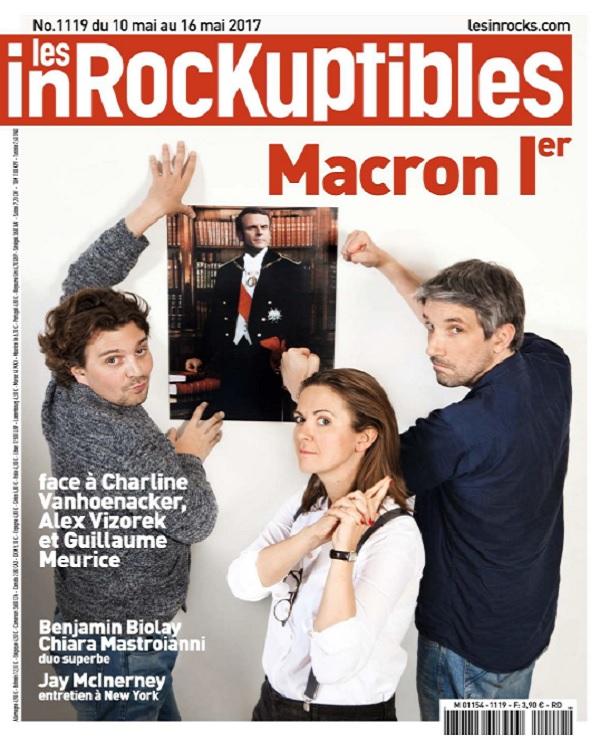 télécharger Les Inrockuptibles N°1119 Du 10 au 16 Mai 2017