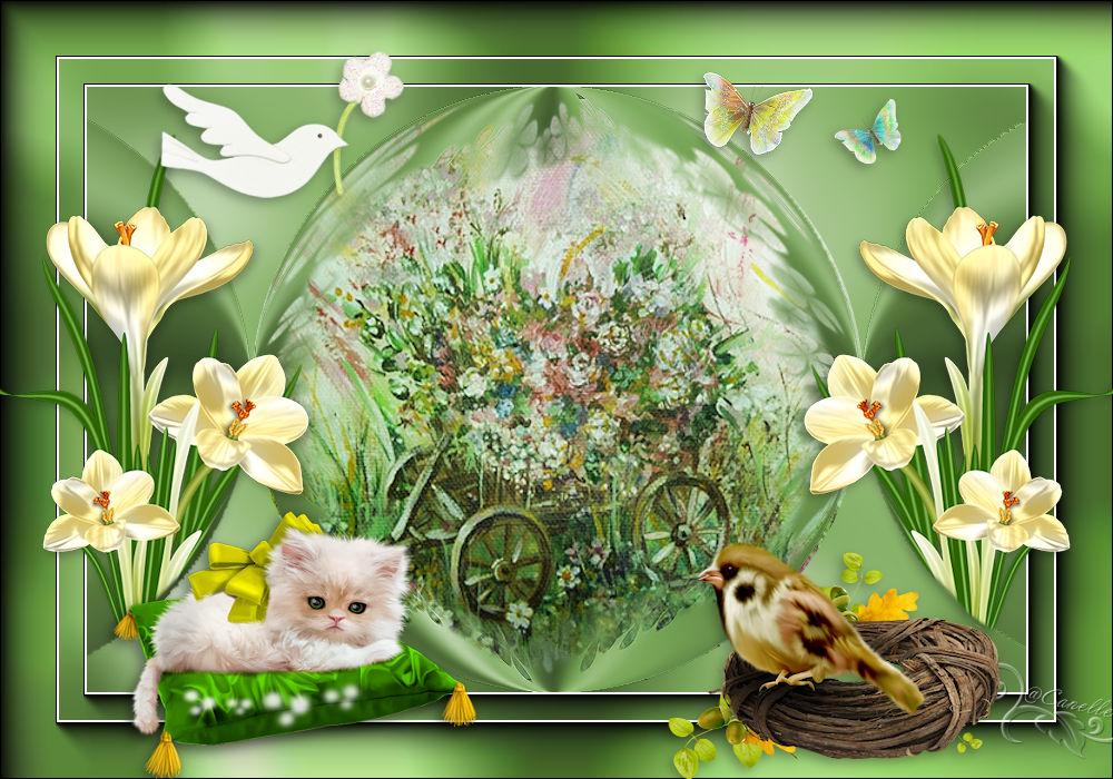 Le chariot de fleurs 170510095439644376