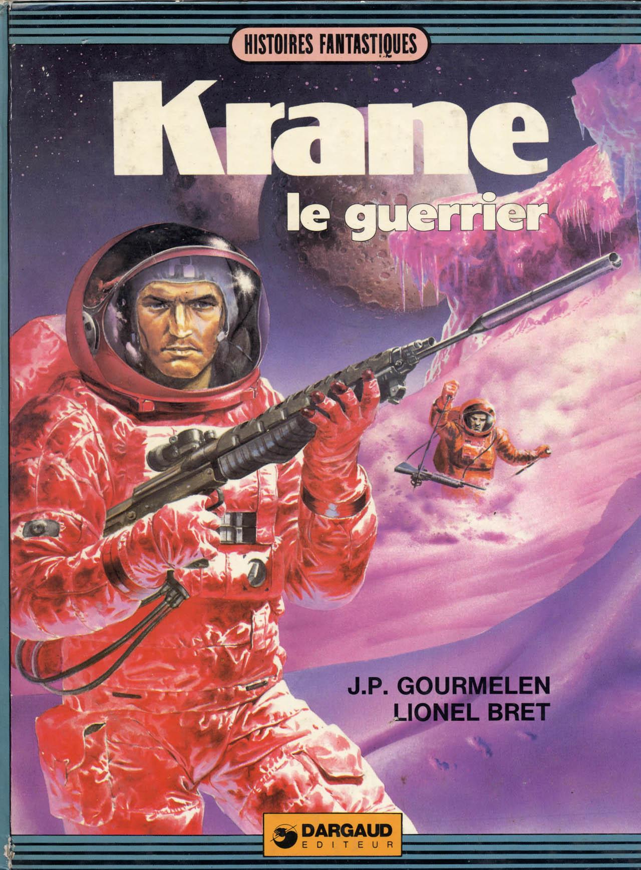 Krane le guerrier série complète CBR