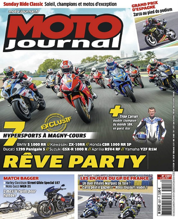 télécharger Moto Journal N°4053 Du 11 Mai 2017