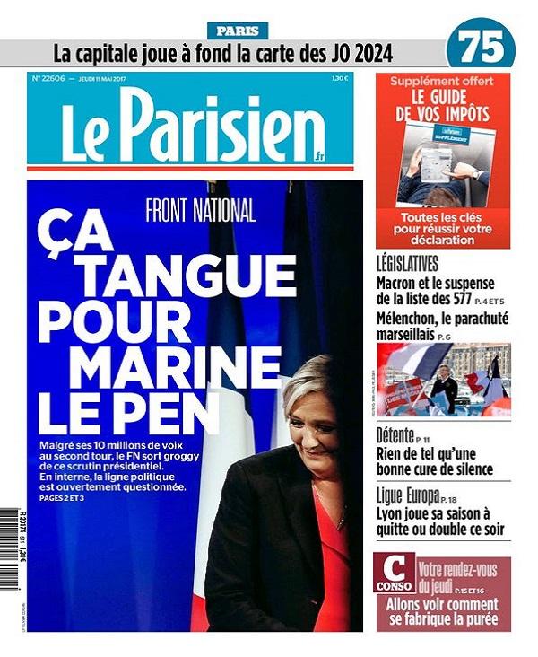 télécharger Le Parisien Du Jeudi 11 Mai 2017