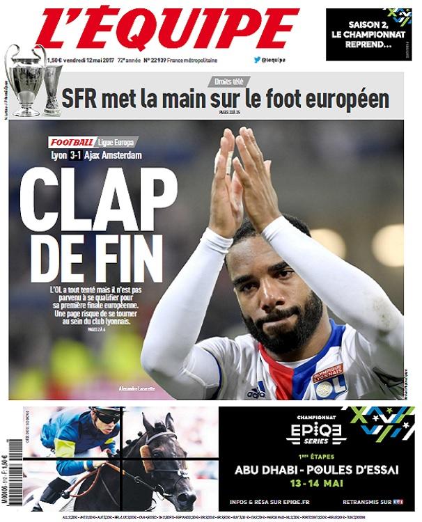 télécharger L'Equipe Du Vendredi 12 Mai 2017