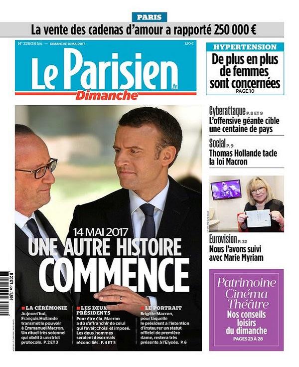 télécharger Le Parisien Du Dimanche + Supp Ile De France Du 14 Mai 2017