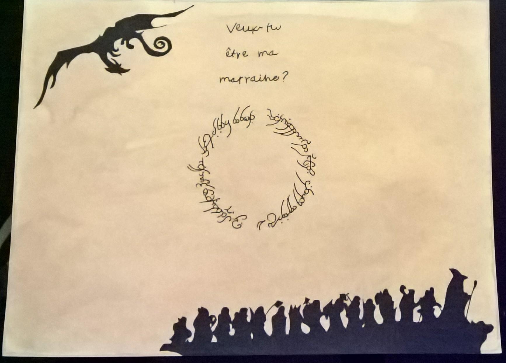 Demande parrain/marraine thème le hobbit - contrat de bilbon 170515014752774868