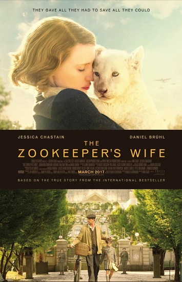 Azyl / The Zookeepers Wife (2017) PLSUBBED.480p.BRRip.XviD.AC3-LEX / Napisy PL
