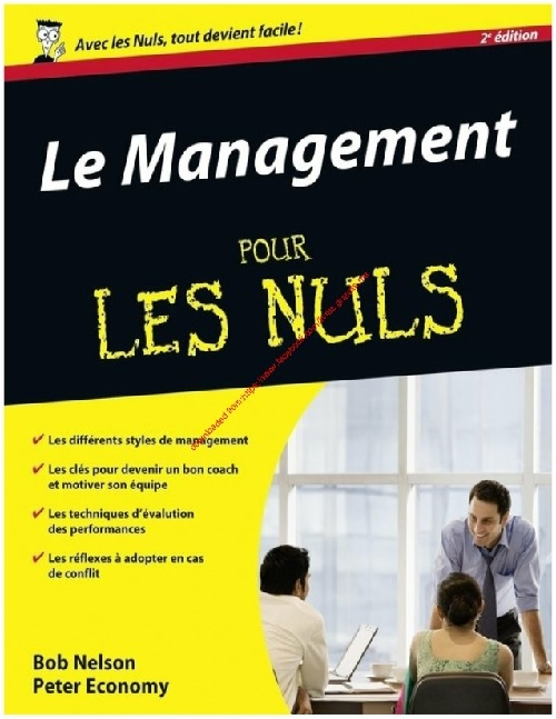 Le management pour les nuls, 2nde édition