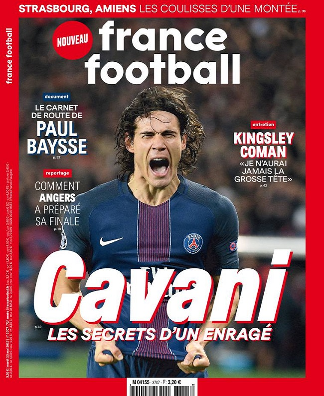 France Football N°3707 Du Mardi 23 Mai 2017