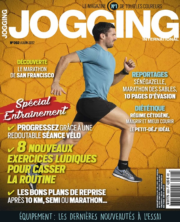 Jogging International N°392 - Juin 2017