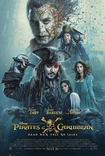 Piraci z Karaibów: Zemsta Salazara / Pirates of the Caribbean Dead Men Tell No Tales (2017) PL.BDRip.XviD-KiT / Lektor PL