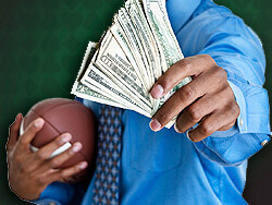 Bettors are more attracted to money than to sex