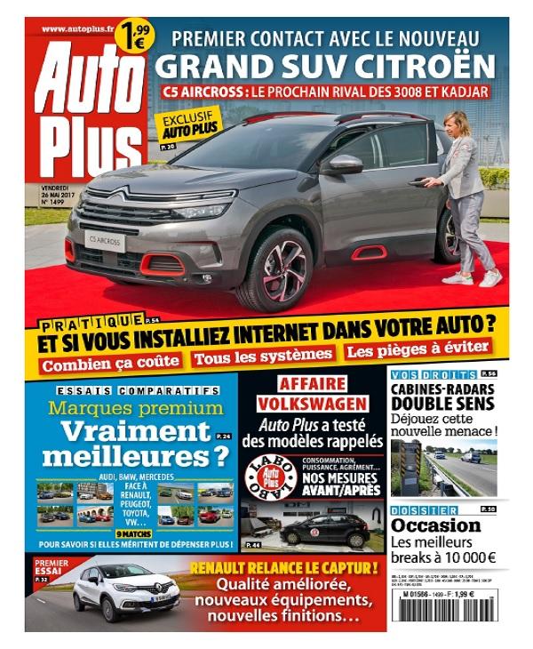 télécharger Auto Plus N°1499 Du 26 Mai 2017