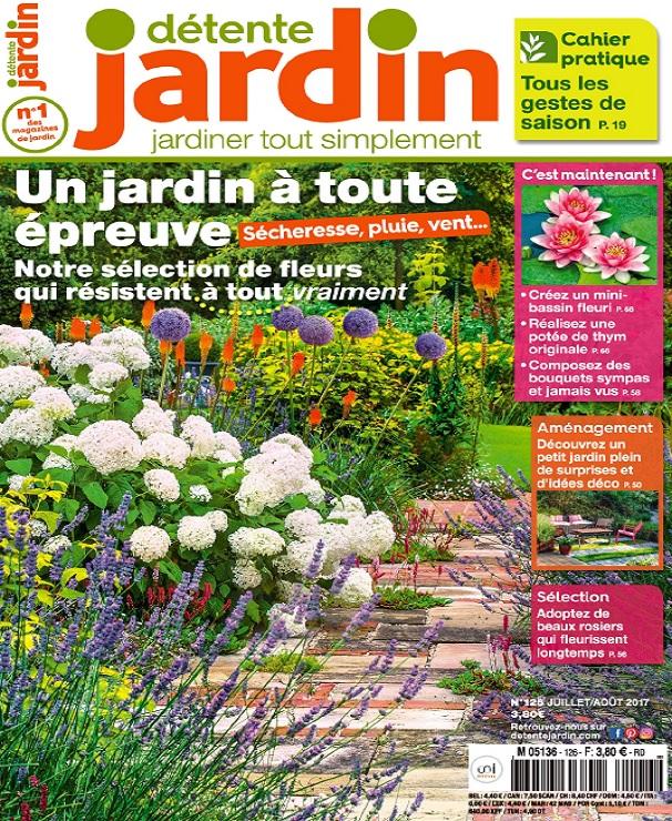Détente Jardin N°126 - Juillet-Août 2017