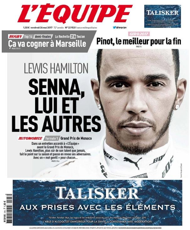 télécharger L'Equipe Du Vendredi 26 Mai 2017