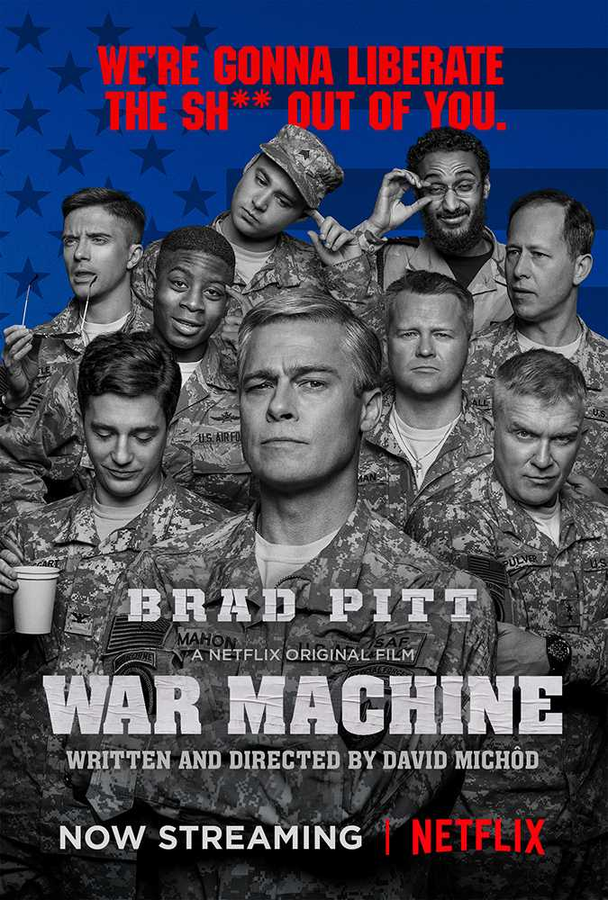 War Machine (2017) poster image