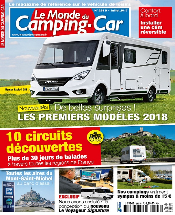 télécharger Le Monde Du Camping-Car N°293 - Juillet 2017