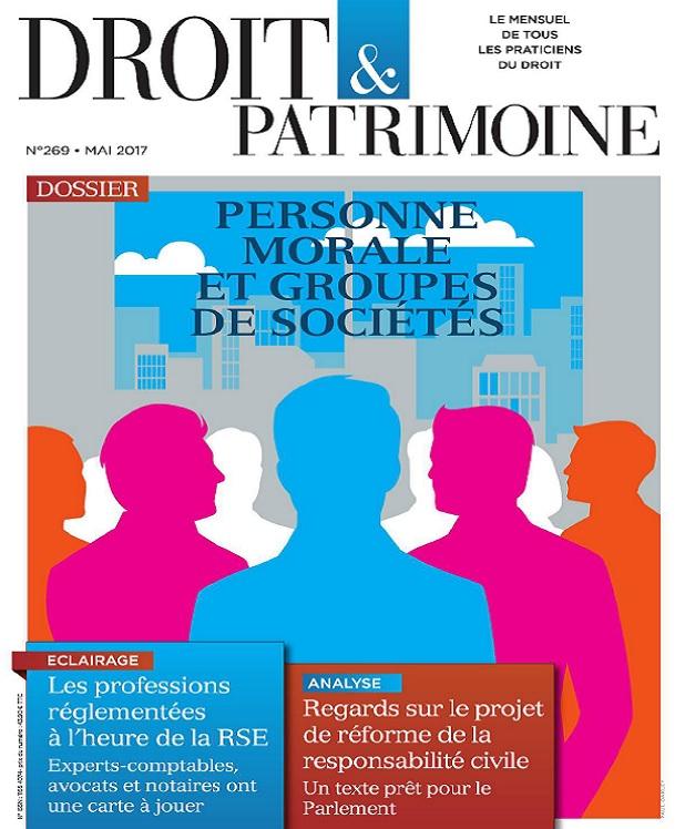télécharger Droit et Patrimoine N°269 - Mai 2017