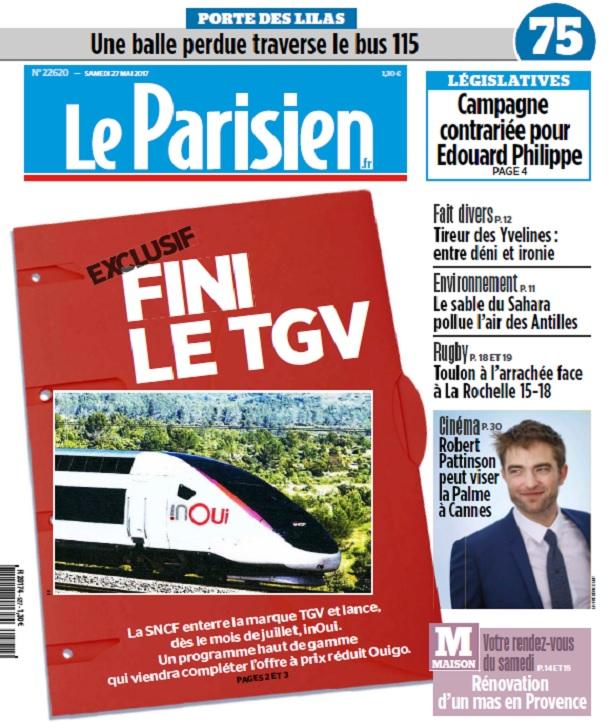 télécharger Le Parisien + Journal De Paris + Seine st Denis du Samedi 27 Mai 2017