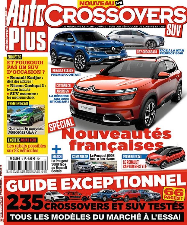 télécharger Auto Plus Hors Série Crossovers N°5 - Été 2017
