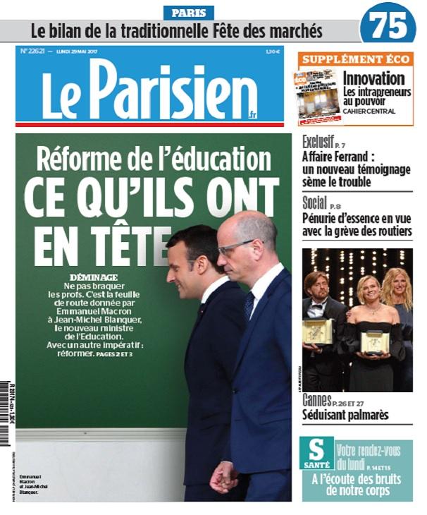 télécharger Le Parisien Du Lundi 29 Mai 2017