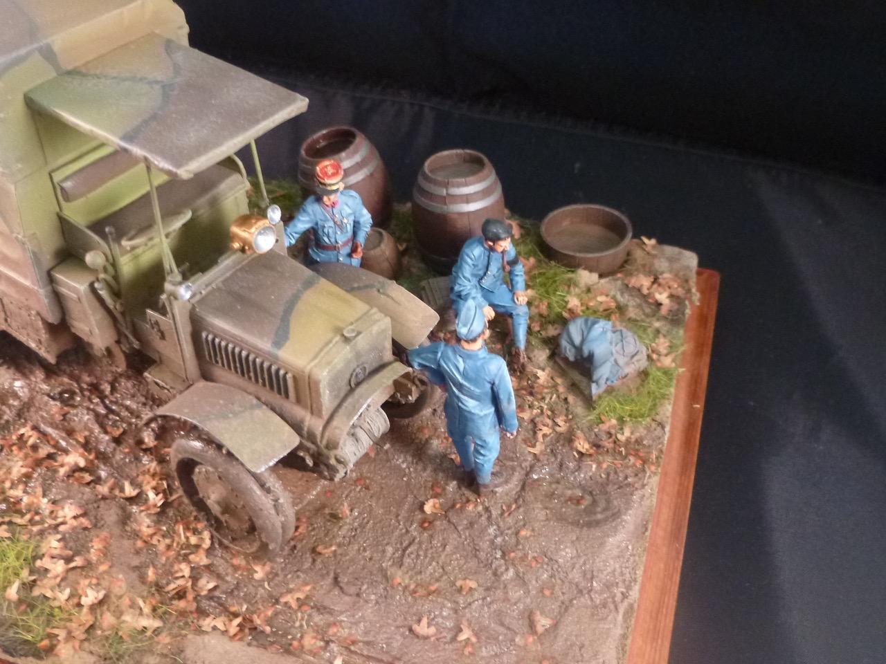 Camion Chatillon Panhard 1917 - résine de chez Blitz au 1/35 - Page 4 170531113214481587