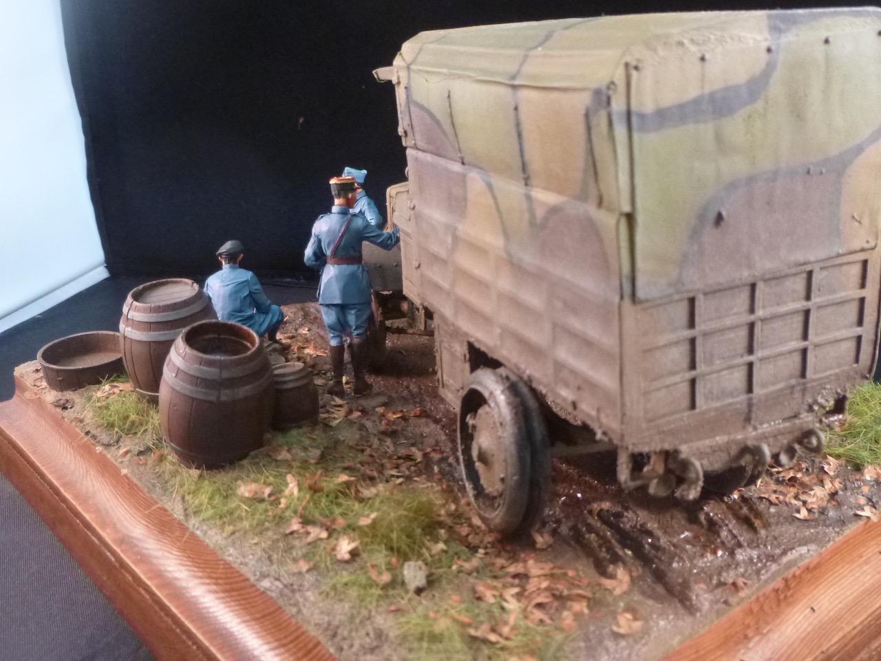 Camion Chatillon Panhard 1917 - résine de chez Blitz au 1/35 - Page 4 170531113540518892