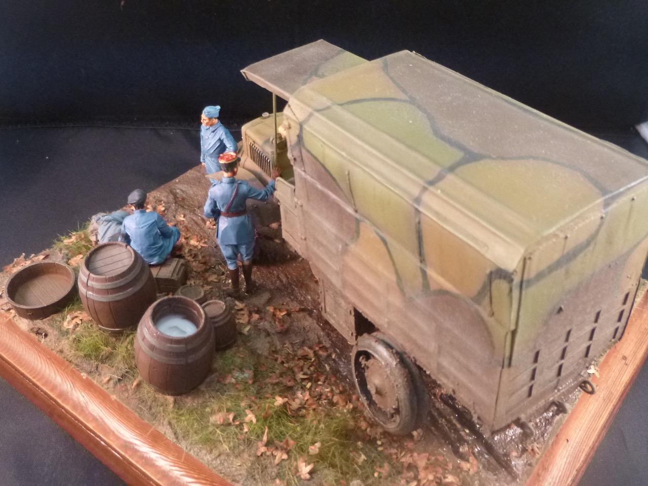 Camion Chatillon Panhard 1917 - résine de chez Blitz au 1/35 - Page 4 170531113619777878